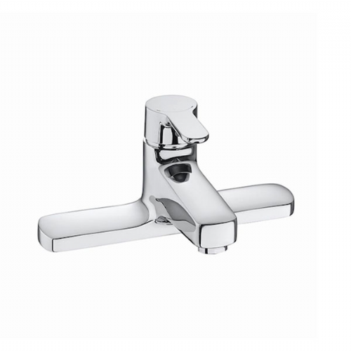 Roca L20 Deck Mounted Bath Filler Tap Chrome